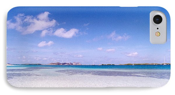 Blue Sky Over White Sandy Beach IPhone Case by Celso Diniz