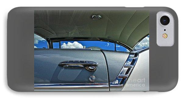 1956 Chevy Bel Air IPhone Case by Linda Bianic