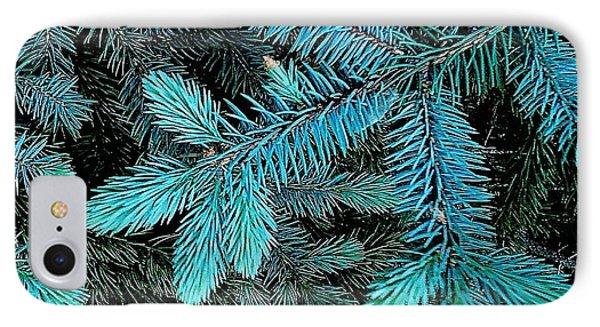 Blue Spruce IPhone Case by Daniel Thompson