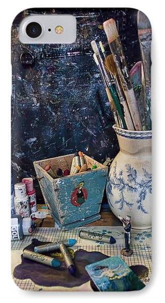 Blue Still Life IPhone Case by Bellesouth Studio