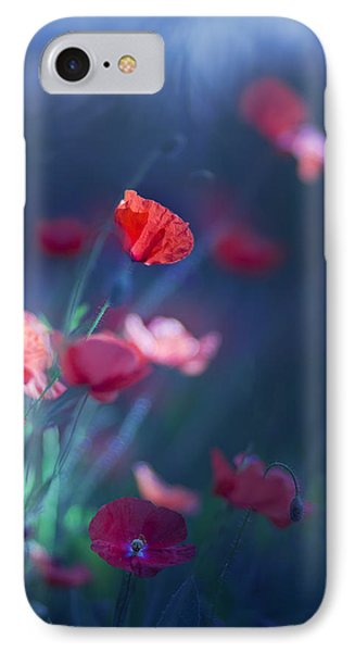 Blue Summer II IPhone Case by Magda  Bognar
