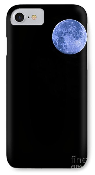 Blue Supermoon Phone Case by Trish Mistric