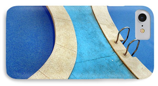 Blue Swimming Pools IPhone Case by Patrick Dinneen