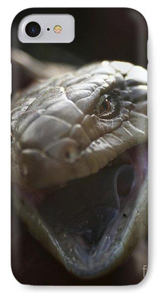 Blue Tongue Lizard IPhone Case