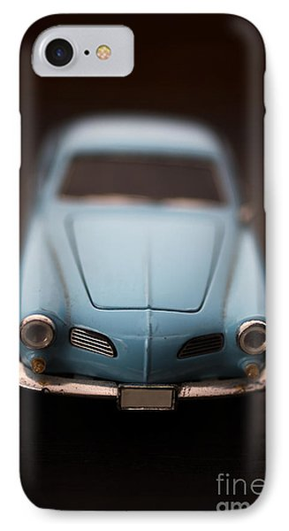 Blue Toy Car IPhone Case