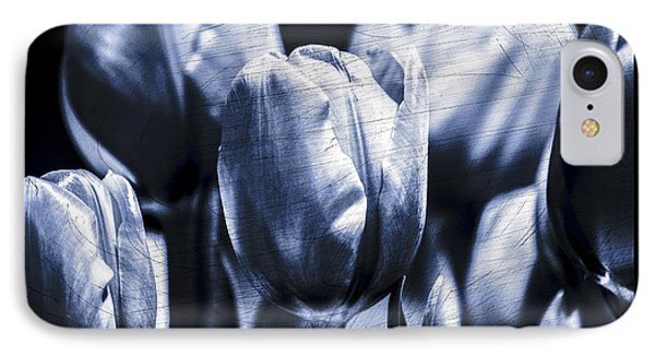 Blue Tulips IPhone Case