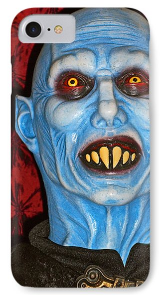 IPhone Case featuring the photograph Blue Vampire by Joan Reese