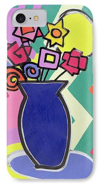 Blue Vase Phone Case by Bodel Rikys
