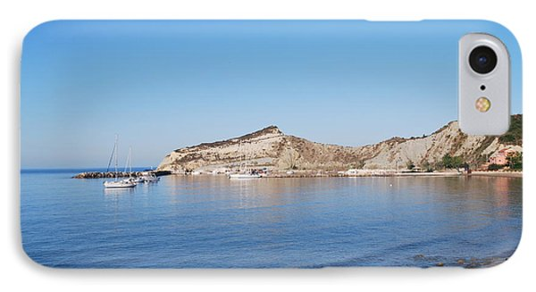 IPhone Case featuring the photograph Blue Water by George Katechis