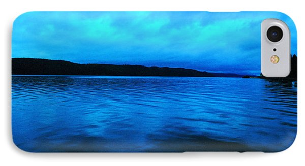 Blue Water In The Morn  Phone Case by Jeff Swan