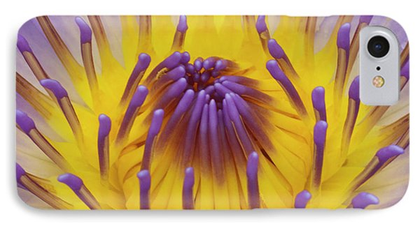 Blue Water Lily Phone Case by Heiko Koehrer-Wagner