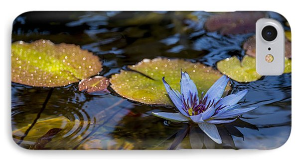 Blue Water Lily Pond IPhone Case by Brian Harig