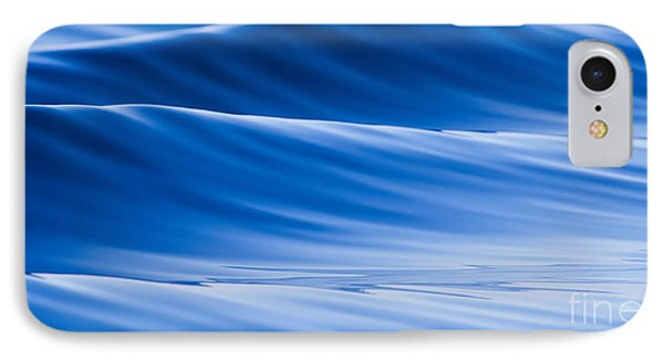 Blue Water Waves Abstract IPhone Case