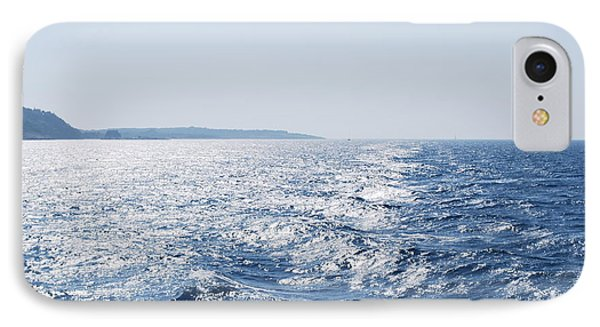 IPhone Case featuring the photograph Blue Waters by George Katechis