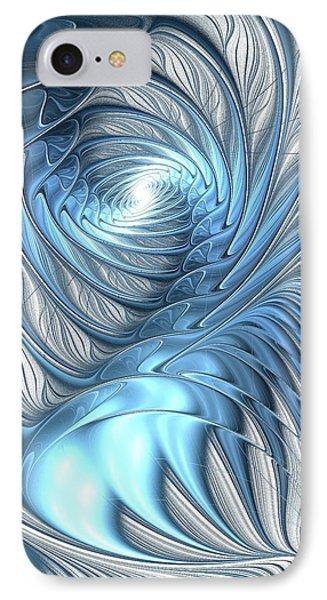 Blue Wave Phone Case by Anastasiya Malakhova