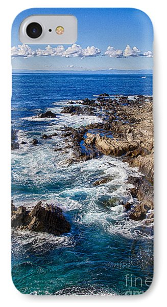 IPhone Case featuring the photograph Blue Wave by Tad Kanazaki