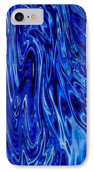 Blue Waves Of Beauty IPhone Case