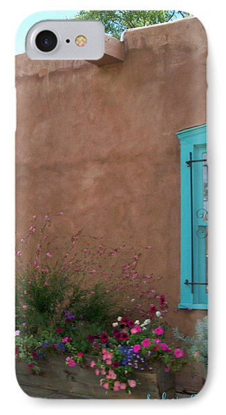 Blue Window IPhone Case by Sylvia Thornton