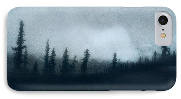 Blue Woods IPhone Case by Priska Wettstein