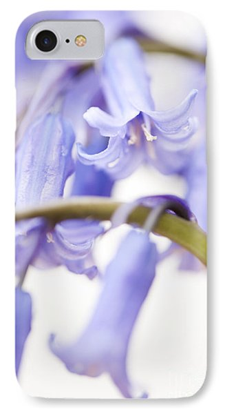 Bluebell Abstract Iv Phone Case by Anne Gilbert