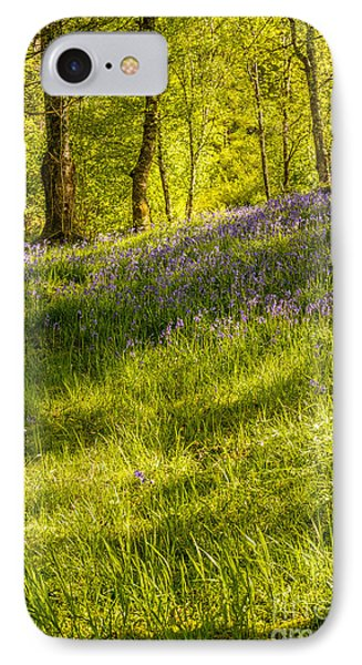 Bluebell Flowers IPhone Case
