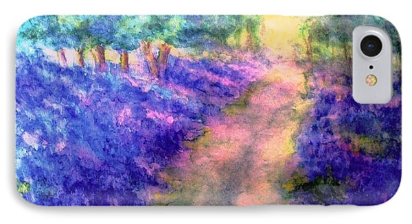 Bluebell Woods IPhone Case by Hazel Holland