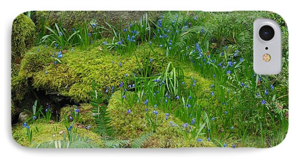 IPhone Case featuring the photograph Bluebells  by Marilyn Wilson