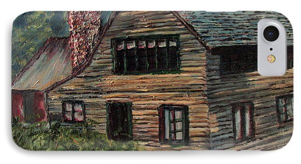 Blueberry Cottage At Twin Lake Village IPhone Case by Denny Morreale