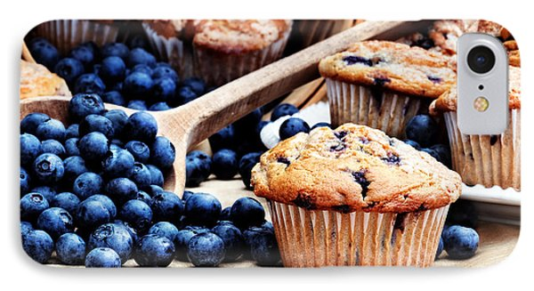 Blueberry Muffins Phone Case by Stephanie Frey