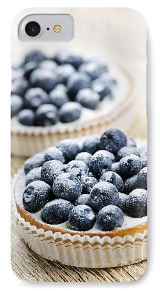 Blueberry Tarts IPhone Case
