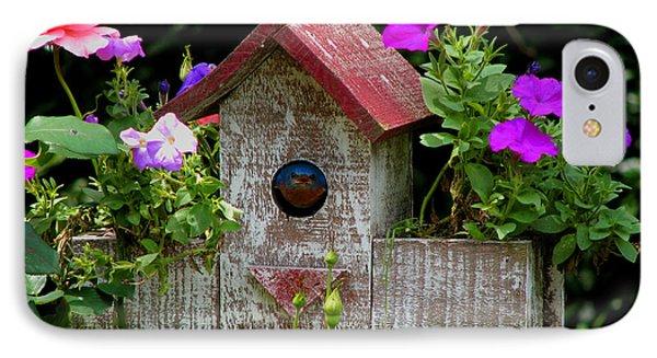 Bluebird House IPhone Case by Luana K Perez