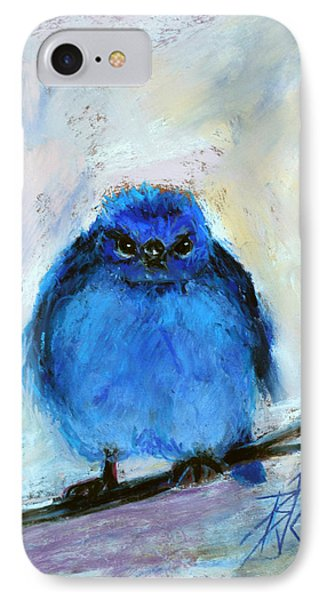 Bluebird Of Unhappiness IPhone Case by Billie Colson