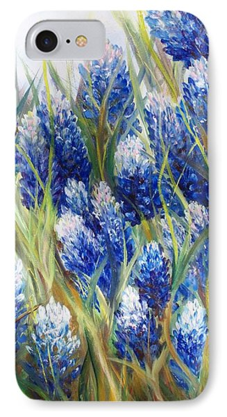 Bluebonnet Barrage  IPhone Case by Patti Gordon