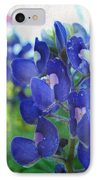 Bluebonnet Charmer IPhone Case