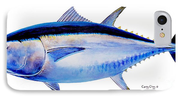 Bluefin Tuna IPhone Case by Carey Chen