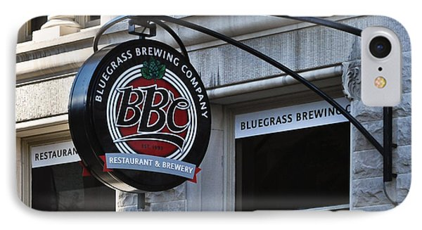 IPhone Case featuring the photograph Bluegrass Brewing Company by Greg Jackson