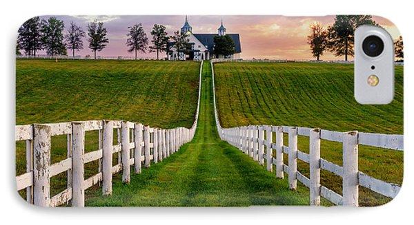 Bluegrass Farm IPhone Case by Anthony Heflin