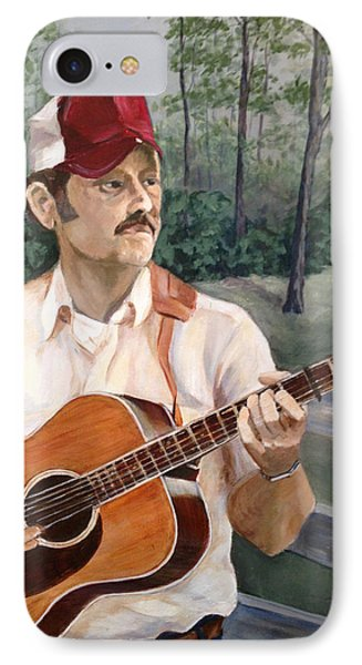 Bluegrass Picker Phone Case by Janet Felts
