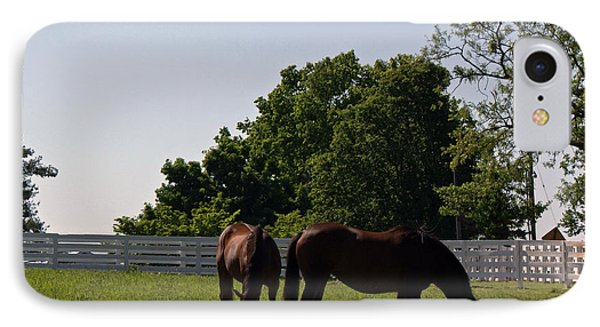 Bluegrass Summer Day Phone Case by Roger Potts