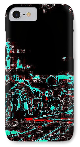 Blood Alley IPhone Case by Larry E Lamb