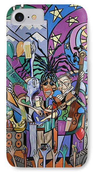 Blues And Brews Phone Case by Anthony Falbo