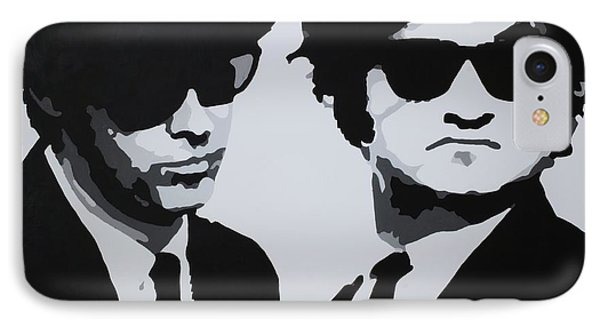 Blues Brothers Phone Case by Katharina Filus