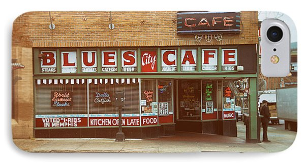 Blues City Cafe On Beale Street Memphis IPhone Case by Mary Lee Dereske