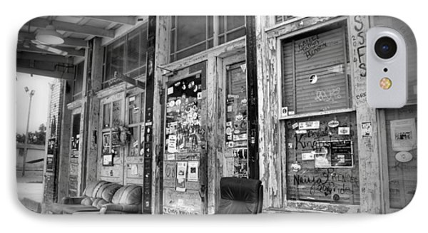 Blues Club In Black And White IPhone Case