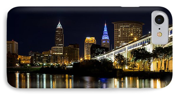 Blues In Cleveland Ohio IPhone Case by Dale Kincaid