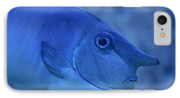 Bluespine Unicorn Fish Phone Case by Karon Melillo DeVega