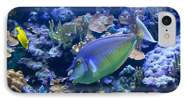 Bluespine Unicornfish Phone Case by Karon Melillo DeVega