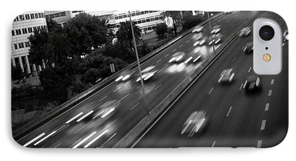 Blurred Cars IPhone Case by Carlos Caetano