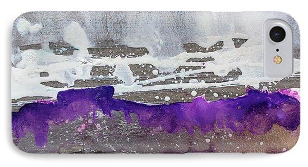 Blurred Fence IPhone Case by Yolanda Koh