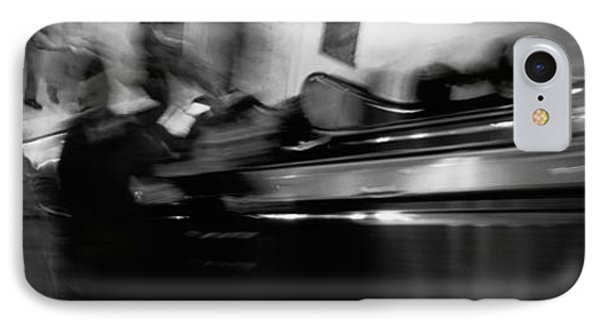 Blurred Motion, People, Grand Central IPhone Case by Panoramic Images